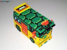 TMNT Party Van 3-D Bead Sprite by DrOctoroc on deviantART