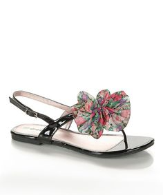 This Black Cherry Sandal by Dreams is perfect! #zulilyfinds