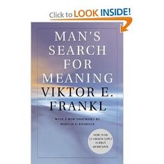 Great book to read as an aspiring counselor, but would've been just as great if I weren't. Frankl gives a haunting description of life in a concentration camp, but the way he does it is facsinating. He doesn't just give us a lot of depressing anecdotes that we've all heard and seen already in the movies. He examines his experiences from a psychological, almost scientific perspective. He also shows us the good that he found in his situation and the ways that he learned to find meaning in…