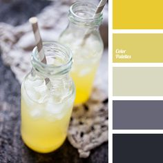 bright yellow color
