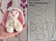 Meu Mundo Craft: Coelhinho de pano