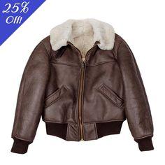 B-26 Shearling Leather Jacket