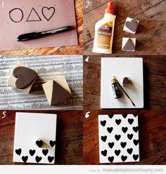 ideas para decorar cuadernos paso a paso - Buscar con Google