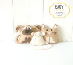 Hey, I found this really awesome Etsy listing at https://www.etsy.com/listing/87516937/kitten-puppy-mouse-mini-pattern-stuffed