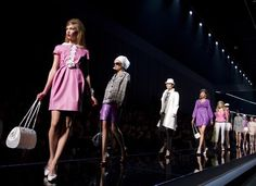 Chanel- I adore the 60's  look#vintage#somanycolors