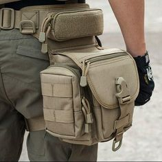 $59.99 - Carry everything on your side with this Outdoor Multifunctional Tactical Leg Bag. Made from1000D CORDURA. Find low prices and buy at Opovoo.com today!