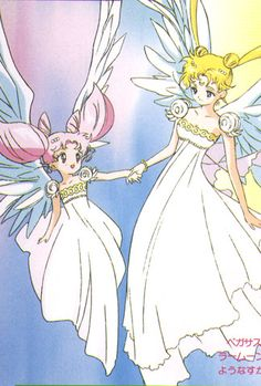Sailor Moon - Double moon #ChibiUsa