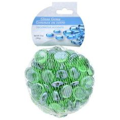 Crafters Square Green Glass Accent Gems, 14-oz. Bag