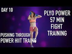 Cardio Kickboxing Plyo Power 57 Min Fight Training PT - YouTube