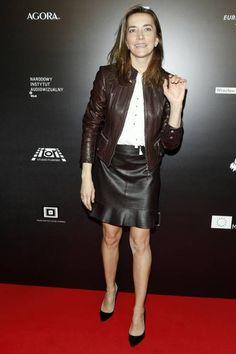 KAMILA  BAAR Leather Skirt, Skirts, Fashion, Moda, Leather Skirts, Fashion Styles, Skirt, Fashion Illustrations