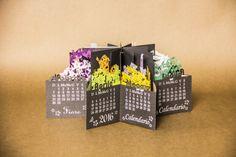 360 Plus Flowers - Pop Up Calendar