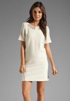 MARC BY MARC JACOBS Resort Hawthorne Wool Blend Dress in Dusty White