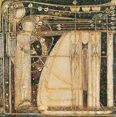 Opera of the Seas Art Print by Margaret Macdonald Mackintosh