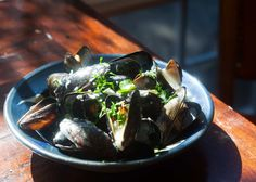 in white wine sauce the best way to eat mussels steamed in white wine ...