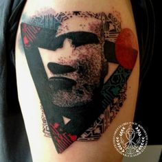 Creative one by Malinky. Can't wait to see maoi tattoos... with their original tattoos!