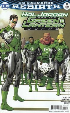 Hal Jordan and the Green Lantern Corps #11 Cover by Kevin Nowlan