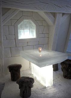 The SnowCastle of Kemi, Finland