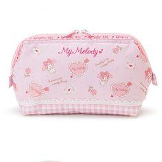6cf048f22568 Sanrio Original My Melody Makeup Cosmetic Pouch Bag Multi Pouch Pink Japan   SanrioJapan Kawaii Bags