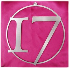 images of number 17 | Our very first house number!