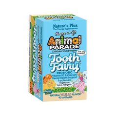 Shop the best Nature's Plus Animal Parade Tooth Fairy Probiotic 90 Chwbls products at Swanson Health Products. Trusted since we offer trusted quality and great value on Nature's Plus Animal Parade Tooth Fairy Probiotic 90 Chwbls products. Tooth Extraction Aftercare, Tooth Extraction Healing, Dental Surgery, Dental Implants, Dental Hygienist, Dental Health, Dental Care, Best Probiotic, Tooth Pain