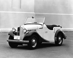 1952 Datsun Sports Car. In January 1952, a body designed by Y. Ohta was mounted on a chassis with this powerful engine. Its smart looks and comfortable ride made it a popular choice, but production was limited to 50 units.