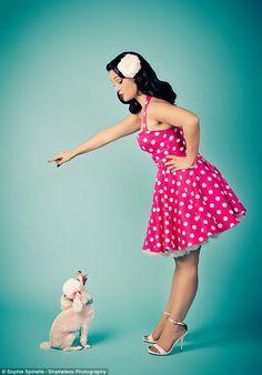 Pin up & Rockabilly Moda Rockabilly, Style Rockabilly, Rockabilly Fashion, Retro Fashion, Rockabilly Girls, Pin Up Fashion, Fashion Models, Fashion Tips, Pin Up Vintage