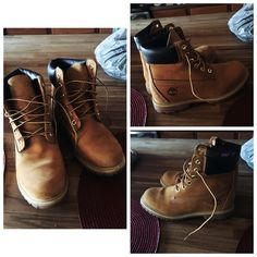 Timberlands Only wore twice, brand new condition, size 7 Timberland Shoes Lace Up Boots