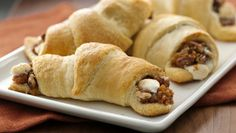 Sweet Potato Casserole Crescents i will make anything with crescents!!!