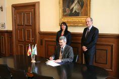 FAU erweitert Zusammenarbeit mit der Universidade de Sao Paulo: Technische Fakultäten beider Universitäten beschließen Abkommen. (Bild: FAU/Boris Mijat)
