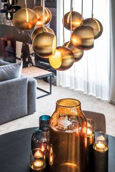 Pendle Lamp Metal Gold - Cosmopolitan living by Dôme Deco Coffee Maker, Kitchen Appliances, Ceiling Lights, Lighting, Cosmopolitan, Metal, Home Decor, Coffee Maker Machine, Cooking Ware