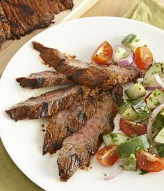For the best flavor, season the steak and let marinate 30 minutes before grilling.