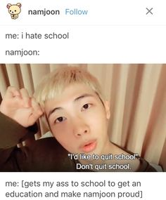 I love how considerate namjoon is