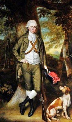 England 1784 Joshua Walker, of Clifton House by John Russell (English artist, 1745-1806)