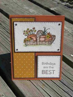 Birthday Friend by auntynanny - Cards and Paper Crafts at Splitcoaststampers Fall Cards, Holiday Cards, Long Time Friends, Art Impressions, Cards For Friends, Friend Birthday, Stamping Up, Flower Cards, Stampin Up Cards