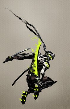 2016 04 Genji by shikee on DeviantArt