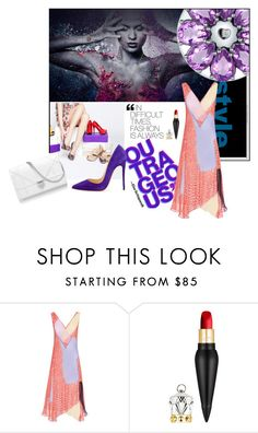 """""""Summer 2016"""" by belldraw ❤ liked on Polyvore featuring Monday, Diane Von Furstenberg, Christian Louboutin and totwoo"""