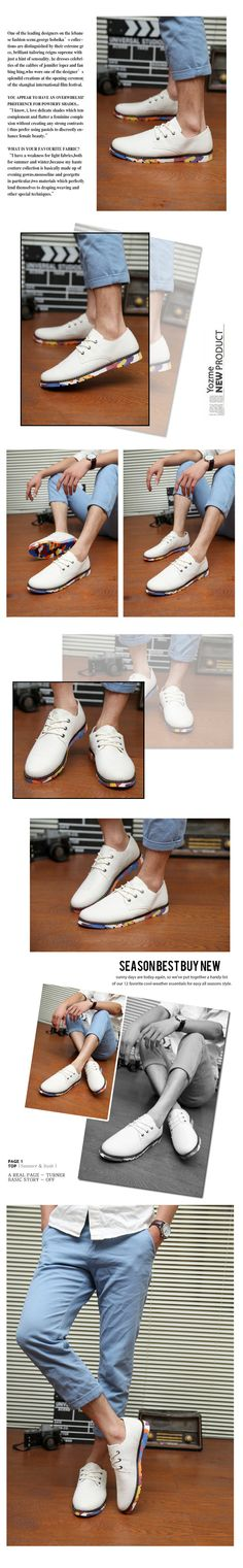 Summer white shoes Korean version of the British men's casual shoes Men's Shoes increased Zilin curved tide shoes breathable shoesqwtropqjmkk from English Agent:BuyChina.com