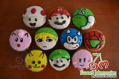 Smash Bros cupcakes https://www.facebook.com/sweetmemoriesbyclarisaborunda/