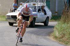 Jan Raas, hier als wereldkampioen in 1979, won Gent-Wevelgem in 1981 (foto: Sirotti)