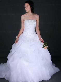 White Oganza Spring 2013 Wedding Dresses  Price $308.99 #asapbay