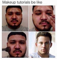 Funny pictures, jokes and funny memes sharing website to make others laugh. Get more funny pictures here. Login and share funny pic to make world laugh. Funny Makeup Memes, Makeup Humor, Funny Jokes, Hilarious Quotes, Funniest Memes, Makeup Quotes, Memes Humor, Funny Cute, The Funny
