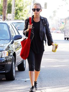 Nicole Richie headed to the gym