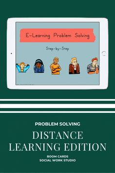 BoomLearning.com - Amazing authors make awesome learning content! Problem solving specific to distance learning! Includes five cases about students facing distance learning problems. Requires students to: 1. Identify the problem 2. Determine the size of the problem 3. Think of possible solutions 4. Evaluate the solutions 5. Pick the best solution Cases include: - Terrible Technology (tech malfunction issue) - Homework Woes (forgetting to hit submit to turn in work) - Motivation Meltdown…