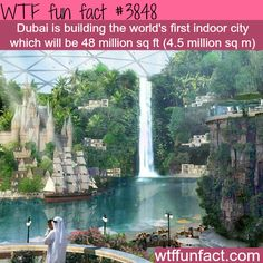 Dubai is building an indoor city - WTF fun facts