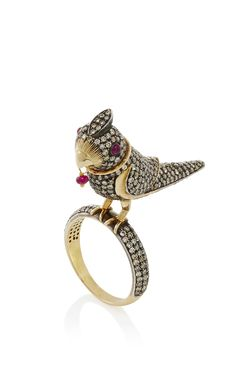 Sanjay Kasliwal Bird Ring - Preorder now on Moda Operandi