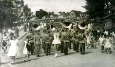 Desfile nas Olimpíadas de Inverno com Banda da Escola de Sargento das Armas-TC