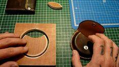 Réalisation - Porte monnaie rond et porte cartes cuir