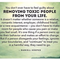 Removing toxic people from your life. 12 important signs you're dealing with a toxic person and how to deal with them. So. Flipping. True!!!