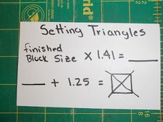 Simply Put Plus. One of the hardest things to do is set in triangles! This makes it easy!