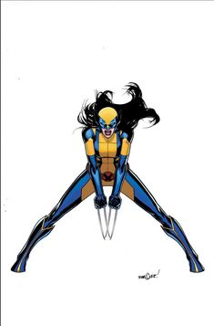 Well well well this is interesting. Here's some illustrations of all new Marvel Comics characters. A female Wolverine... did not see that coming after Thor got changed.